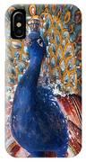 India: Peacock IPhone Case