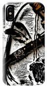 Indian Buffalo Jawbone Tomahawk IPhone Case