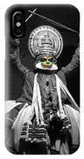 Indian Kathakali Dance Of Kerela 2 IPhone Case