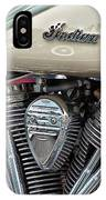 Indian Motorcycle Engine IPhone Case