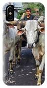 Indonesian Bovine Cart IPhone Case