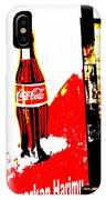 Indonesian Coke Ad IPhone Case