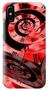 Infinity Time Cube Red IPhone Case