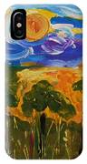 Intense Sky And Landscape IPhone Case