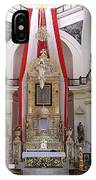 Interior Of Our Lady Of Guadalupe  IPhone Case