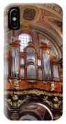 Interior St Stanislaus Church - Posnan IPhone Case