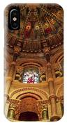Interiors Of A Cathedral, St. Finbarrs IPhone Case