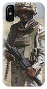Iraqi Army Soldier IPhone Case
