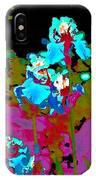 Iris 49 IPhone Case