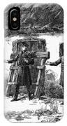 Irish Land League, 1887 IPhone Case