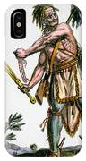 Iroquois Warrior IPhone Case