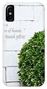Isaiah 58 Vs 12 IPhone Case