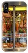 Italian Market Butcher Shop IPhone Case