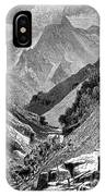 Italy: Carrara Mountains IPhone Case