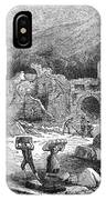 Italy: Earthquake, 1881 IPhone Case