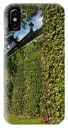 Ivy Covered Chapel IPhone Case