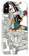 Iztlacoliuhqui, Aztec God Of Frost IPhone Case