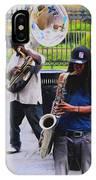 Jackson Square Jazz IPhone Case