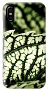Jagged Leaf IPhone Case