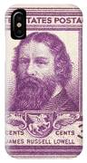 James Russell Lowell IPhone Case