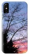 January Silhouette IPhone Case
