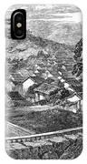 Japan: Nagasaki, 1858 IPhone Case