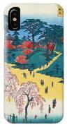 Japan: Temple Gardens IPhone Case