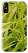 Japanese Forest Grass IPhone Case