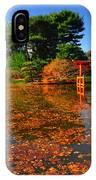 Japanese Garden Brooklyn Botanic Garden IPhone Case
