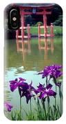 Japanese Garden Brooklyn New York IPhone Case