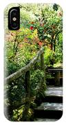 Japanese Garden Retreat IPhone Case
