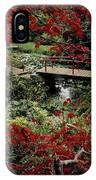 Japanese Garden, Through Acer In IPhone Case