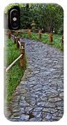 Japanese Tea Garden Path IPhone Case