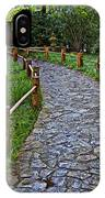 Japanese Tea Garden Path IPhone Case