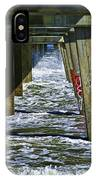 Jax Beach Pier IPhone Case