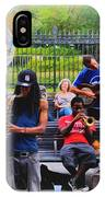Jazz Band At Jackson Square IPhone Case