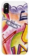 Jazz Deco IPhone Case
