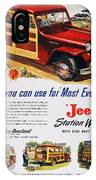 Jeep Station Wagon, 1947 IPhone Case