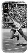 Jesse Owens (1913-1980) IPhone Case