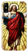 Jesus Christ Stained Glass IPhone Case