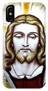 Jesus Close Up Stained Glass IPhone Case