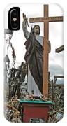 Jesus On The Hill Of Crosses. Lithuania IPhone Case