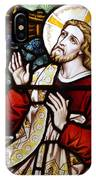 Jesus Stained Glass IPhone Case
