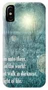 Jesus The Light Of The World IPhone Case
