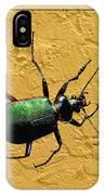 Jeweltone Beetle IPhone Case