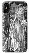 Jewish Wedding, C1892 IPhone Case
