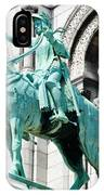 Joan Of Arc At Sacre Coeur Basilica Paris France IPhone Case