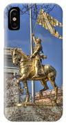 Joan Of Arc Statue New Orleans IPhone Case