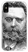 Johann Joseph Most IPhone Case