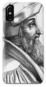 Johannes Oecolampadius IPhone Case